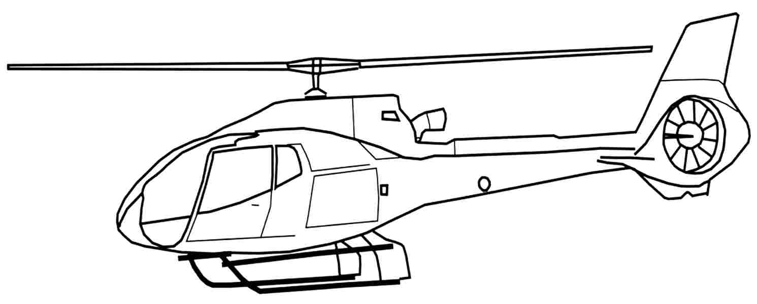 1491x600 Helicopter Coloring Pages