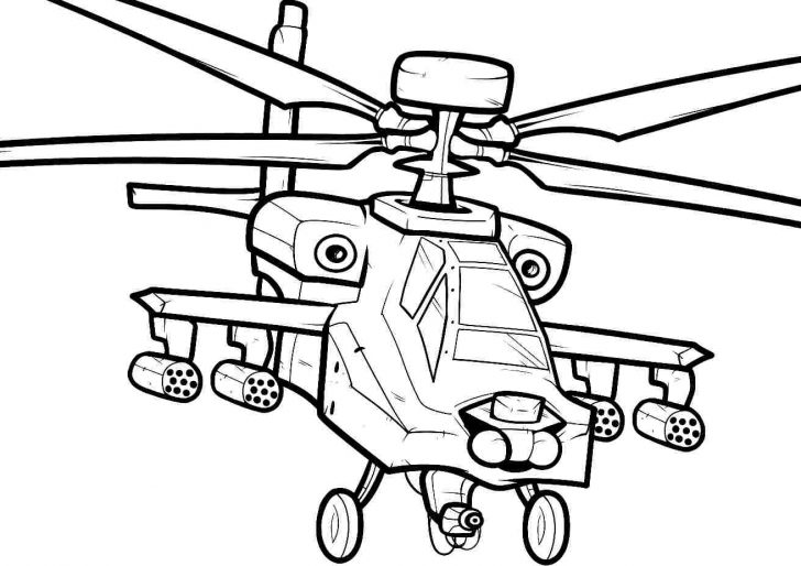 728x514 Printable Helicopter Coloring Pages For Kids Bell Page Free Police
