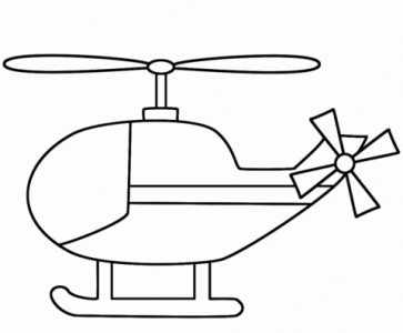 363x300 Coloring Pages Delightful Helicopter Colouring Coloring Page