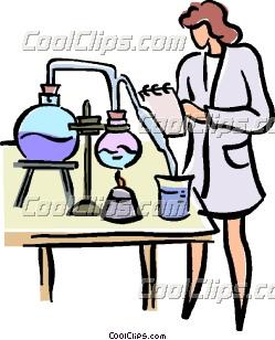 249x308 Female Research Scientist Clip Art