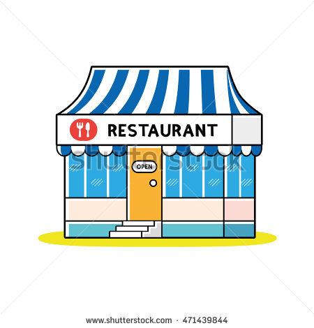 450x470 Restaurant Clipart Restaurant Building