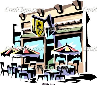 375x328 Restaurant Clip Art