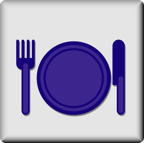 600x599 Hotel Icon Restaurant Clip Art Free Vector In Open Office Drawing