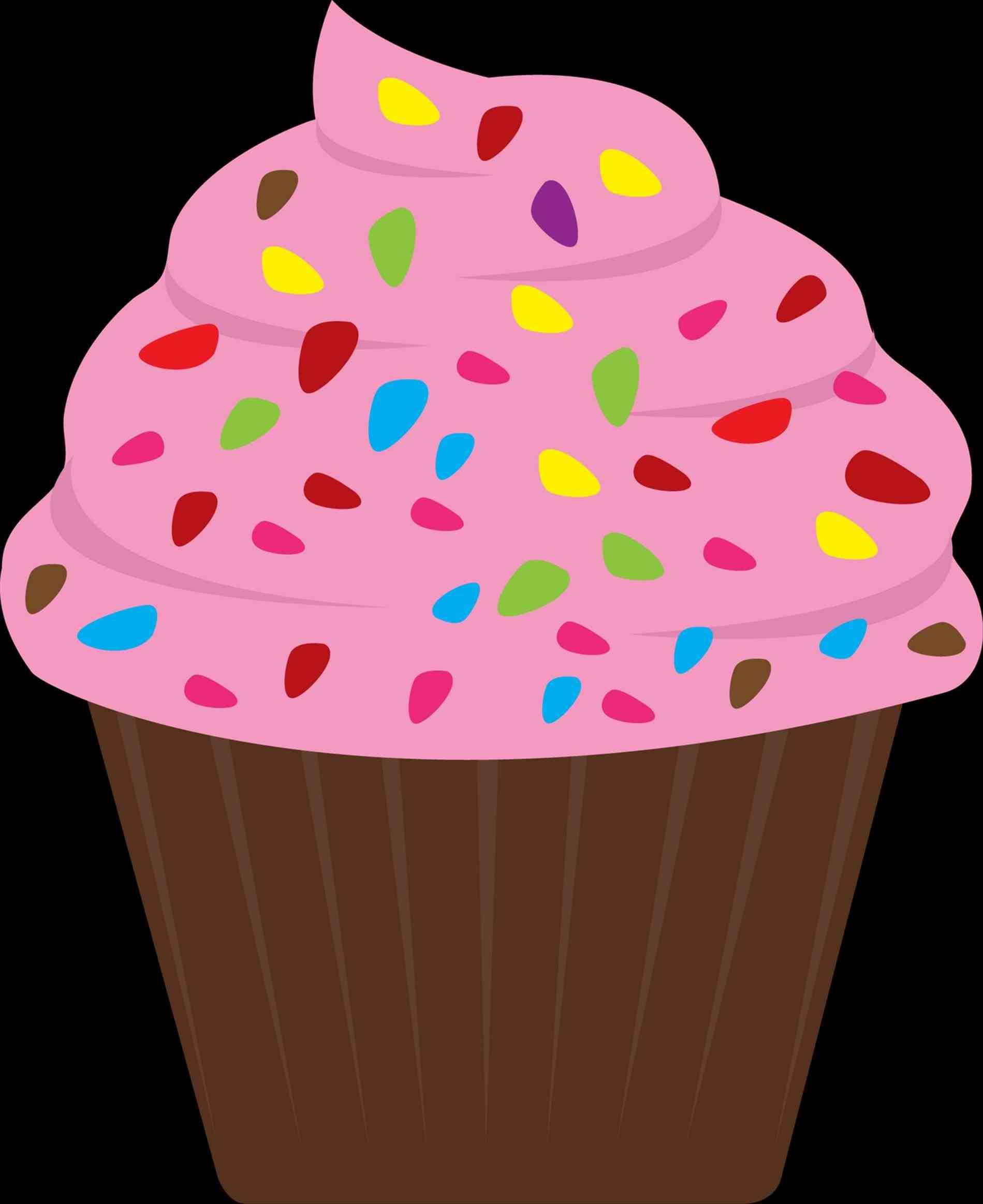 1899x2327 Cupcake Clip Art Vanilla Pencil And In Color Coon Pictures Of S
