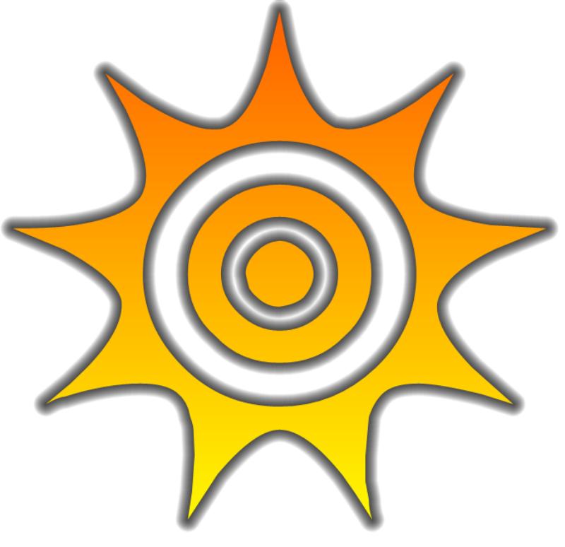 800x774 Sun Glow Free Vector 4vector