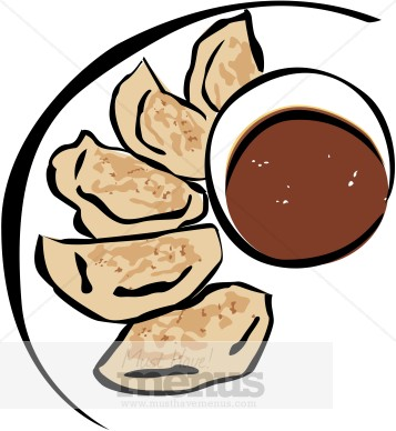 357x388 Pot Stickers Clipart Chinese Restaurant Clipart