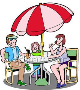 265x300 Romantic Clipart Family Restaurant