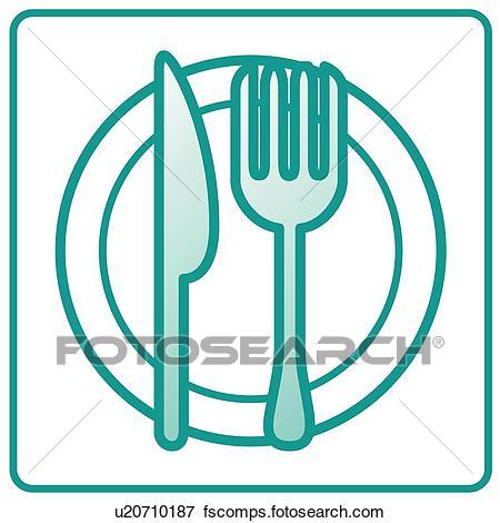 450x470 Clip Art Of Restaurant, Icons, Dishes, Dish, Fork, Restaurants