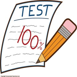 250x250 Test Results Clipart