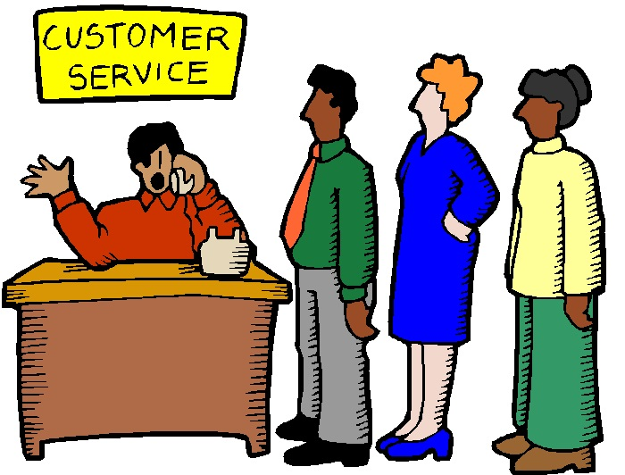 700x532 Illistration Clipart Customer Service Retail
