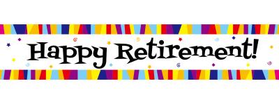 400x150 Happy Retirement Clip Art