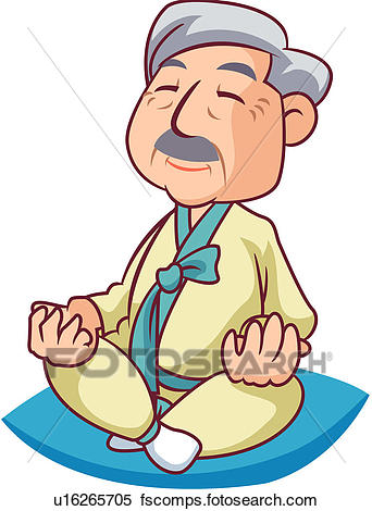 342x470 Clipart Of Retirement, Togetherness, Family, Men, Old People