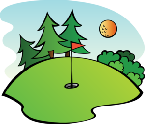 Golf retirement. Clipart images free download