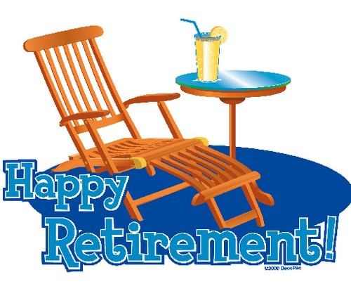 Bing retirement. Clipart images free download