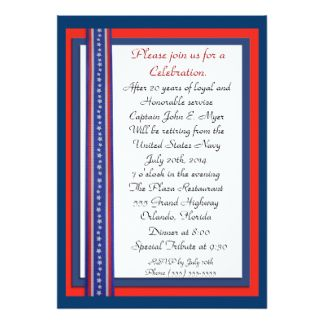 324x324 39 Best Military Retirement Party Invitations Images