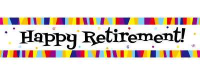 400x150 Happy Retirement Cliparts Free Download Clip Art