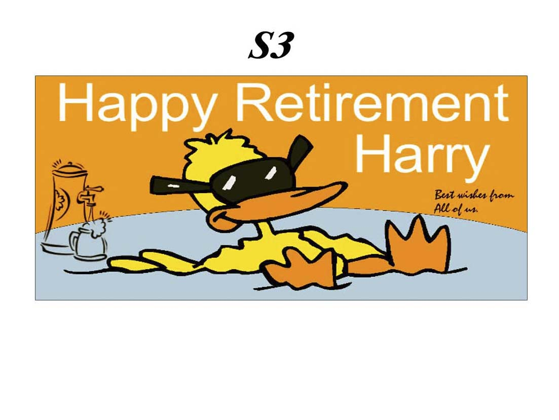 1103x829 Retirement Party Banner Clipart