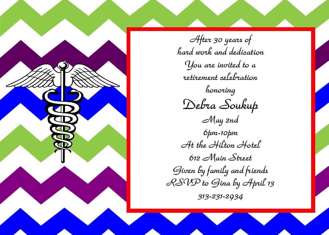 1050x750 Retirement Party Invitations Custom Designed New For Winter 2018