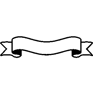 300x300 Ribbon Clipart Simple