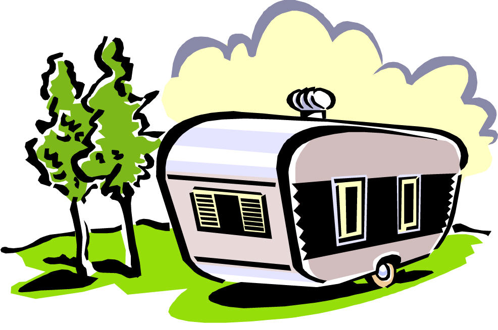 986x654 Campers Clipart