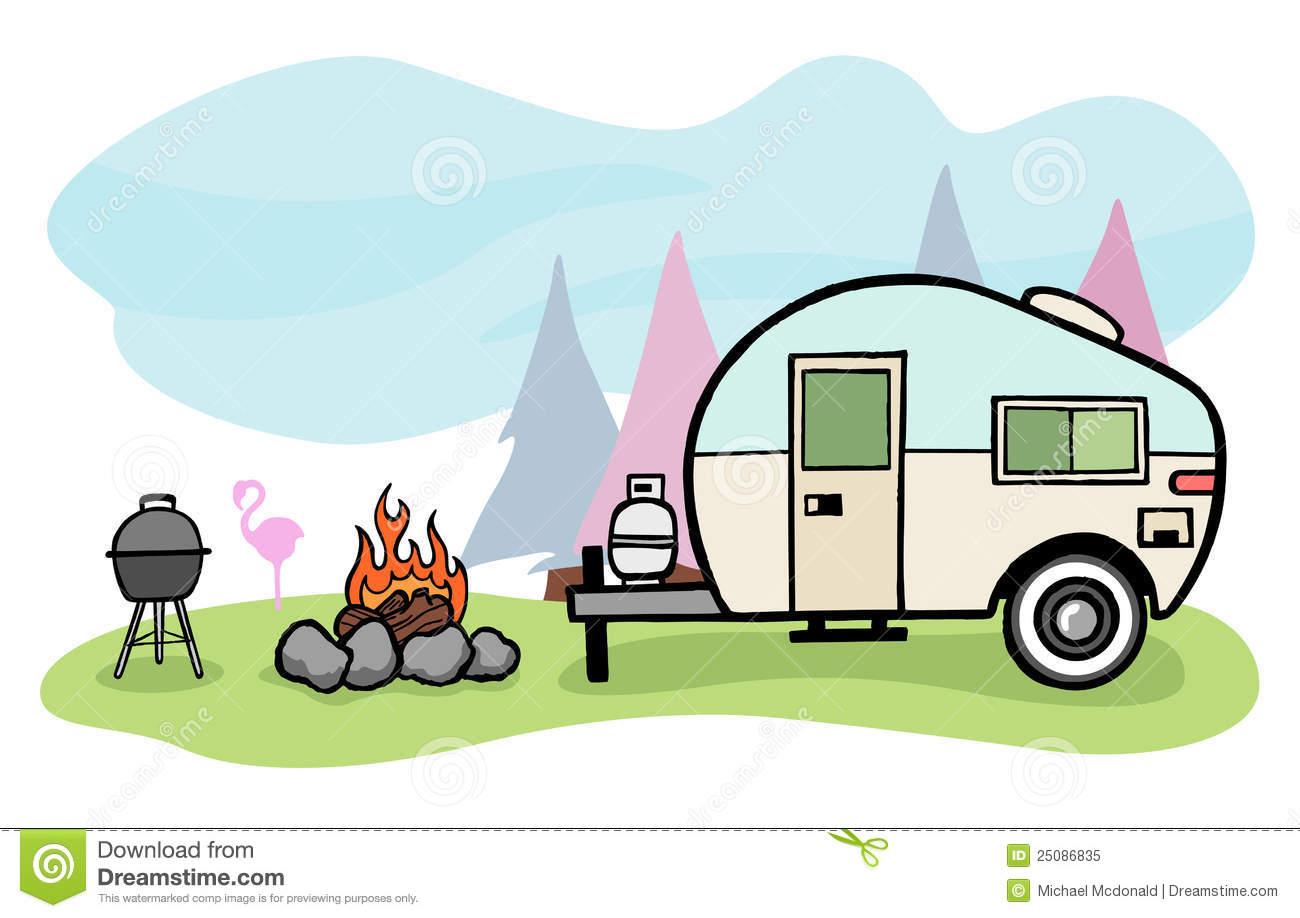 1300x918 Camping Clipart Camper