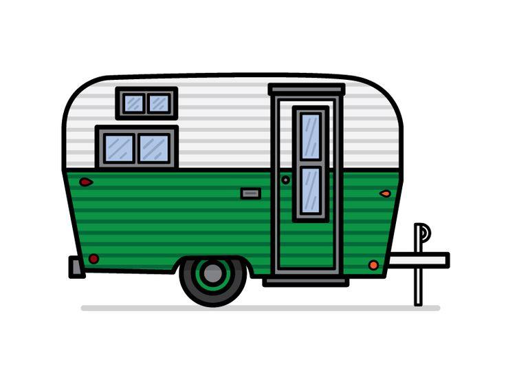 736x552 60 Best Camper Images Vintage Caravans, Flat Design