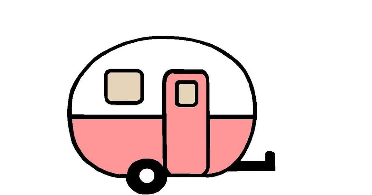 Retro Camper Cliparts Free Download Best