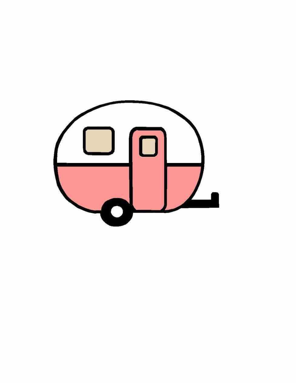 976x1264 Design File Caravan Commercial Use Detailed Caravan Vintage Rv