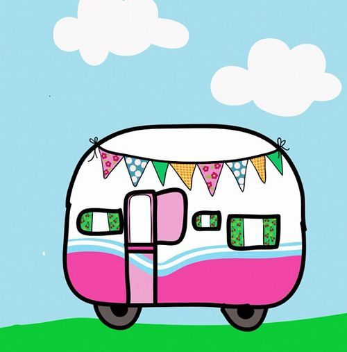 500x507 Image Result For Cartoon Images Caravans Caravans