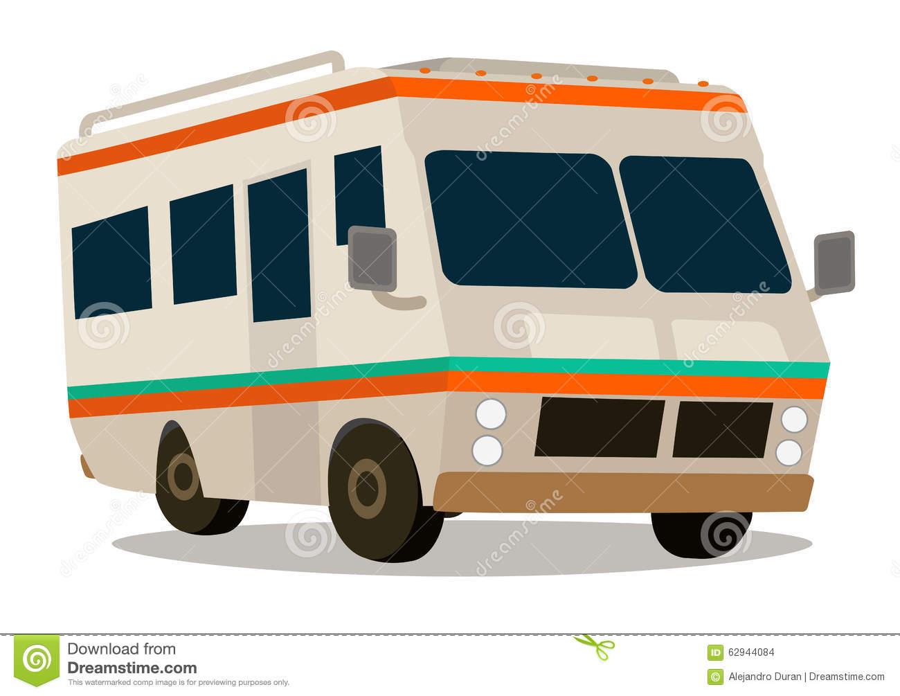 1300x1005 Rv Travel Cartoon Clipart
