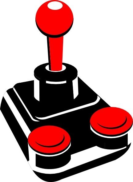 432x592 Retro Joystick Clip Art Free Vector In Open Office Drawing Svg