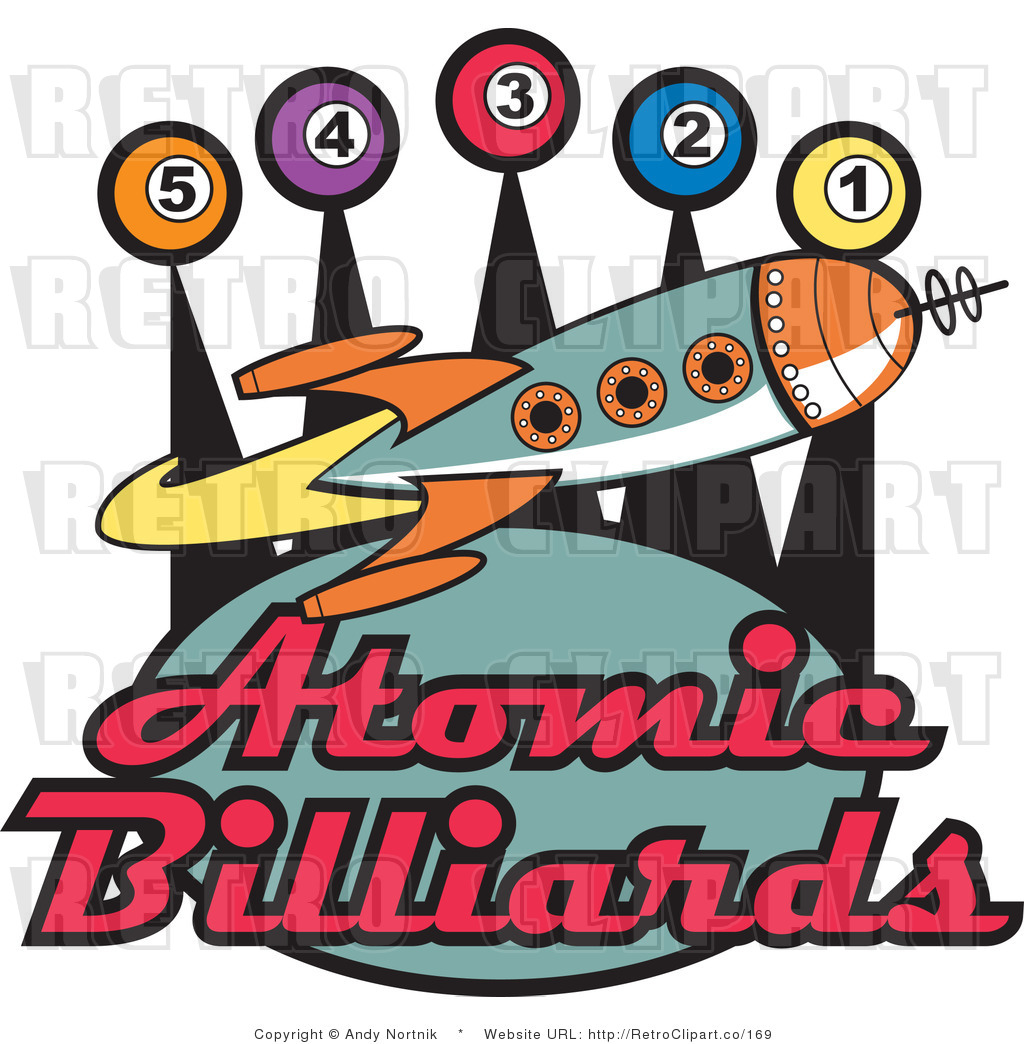 1024x1044 Clip Art Atomic Billiards Rocket Sign Royalty Free Retro Vector By