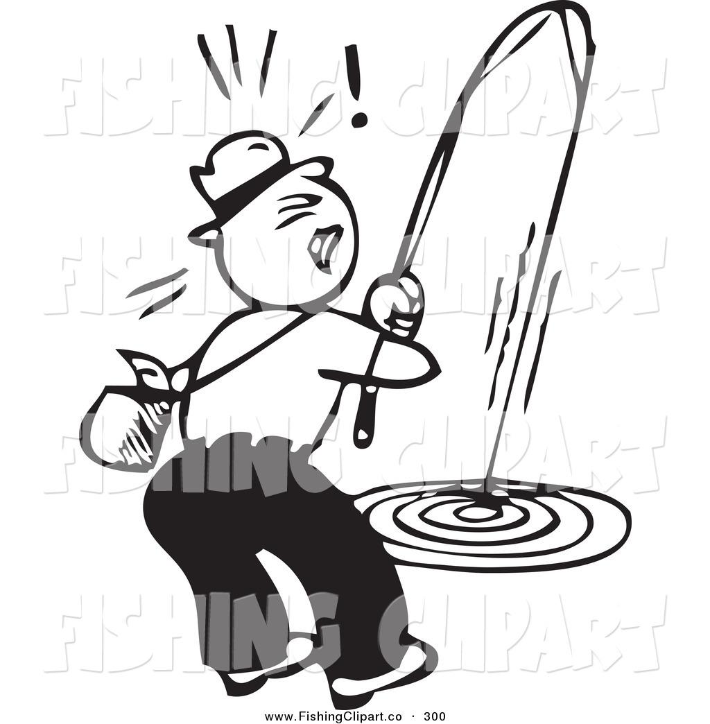1024x1044 Clip Art Of A Retro Black And White Man On Shore, Struggling