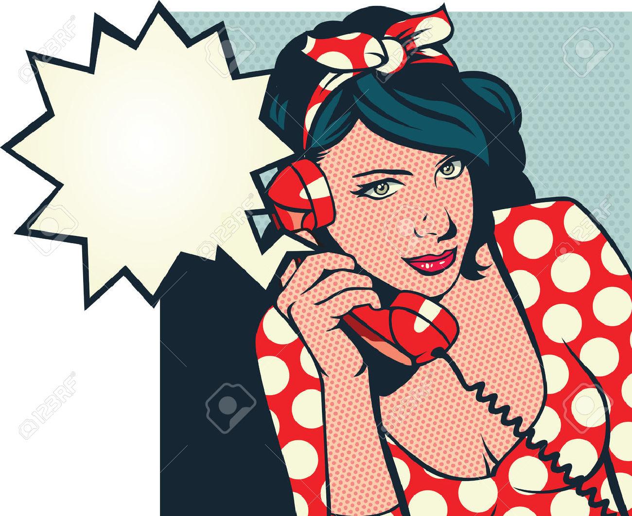 1300x1063 Retro Girl Clipart