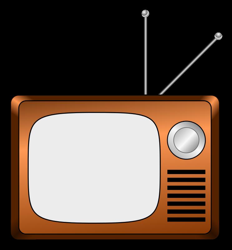 743x800 Retro Television Clipart