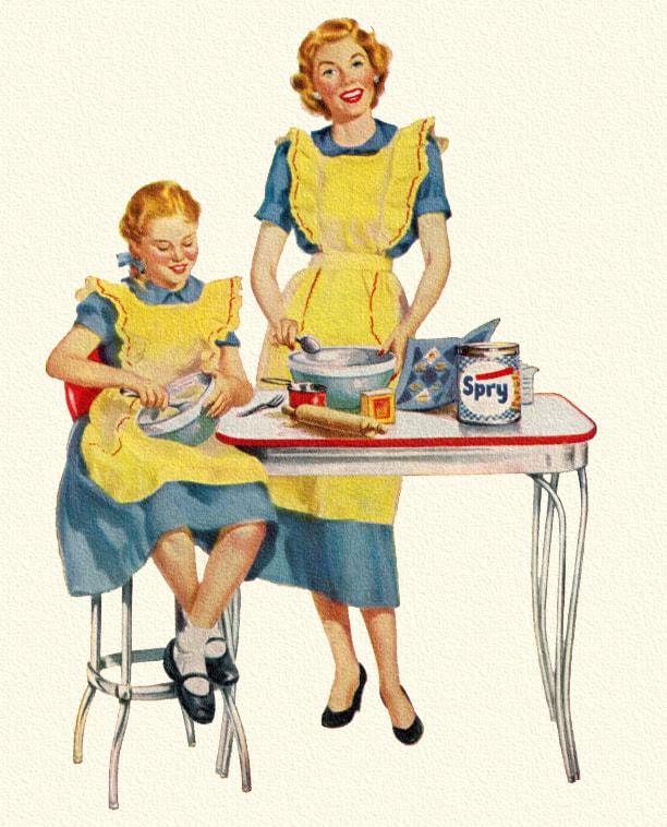 612x758 Retro Housewife