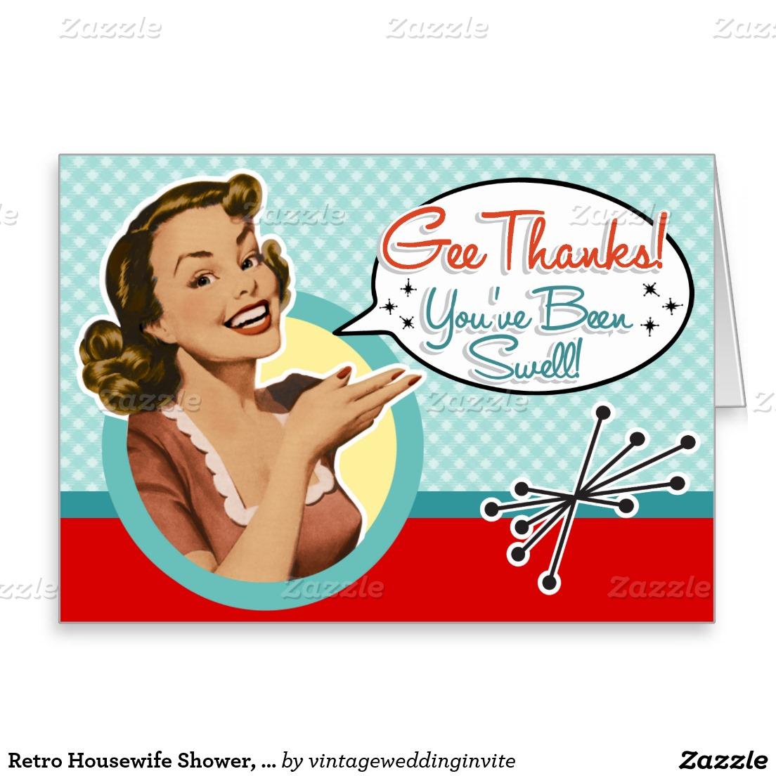 1104x1104 Retro Housewife Shower, Gossip!