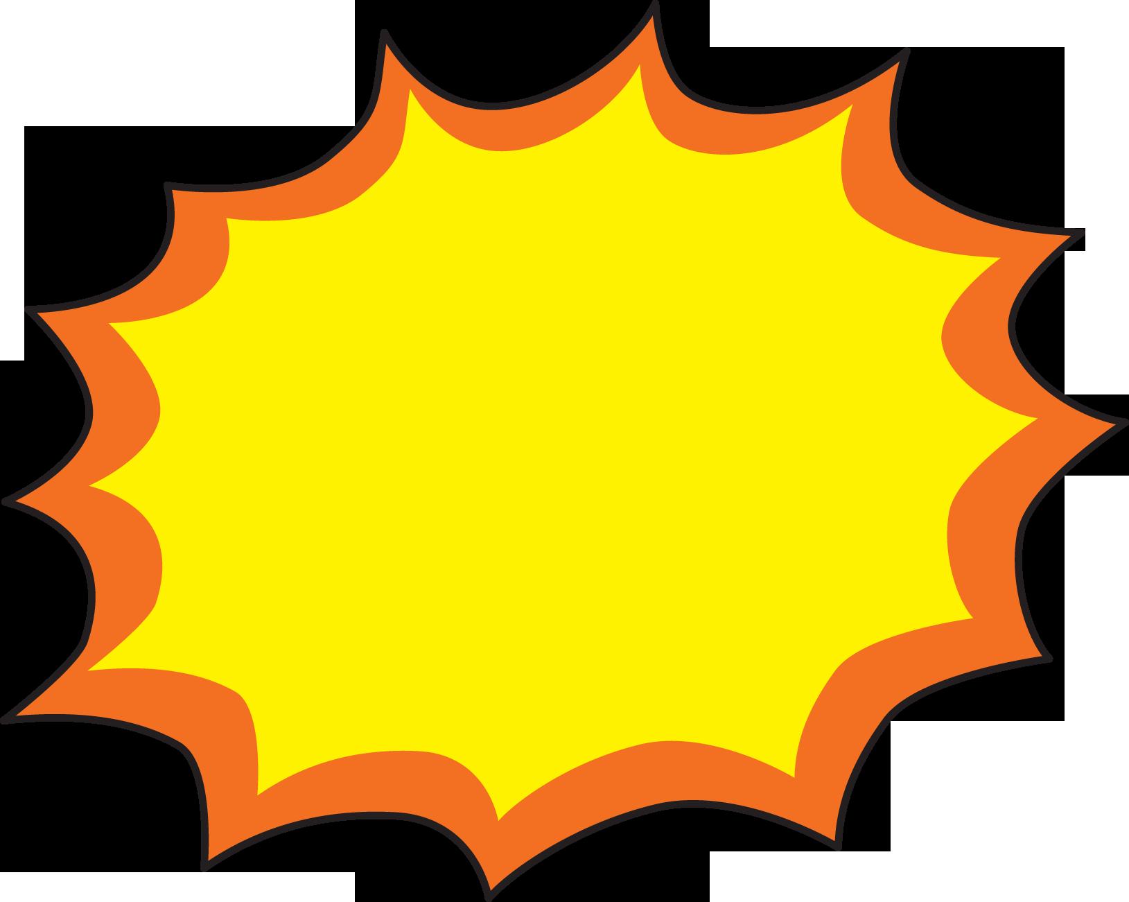 1629x1301 Yellow Starburst Clipart