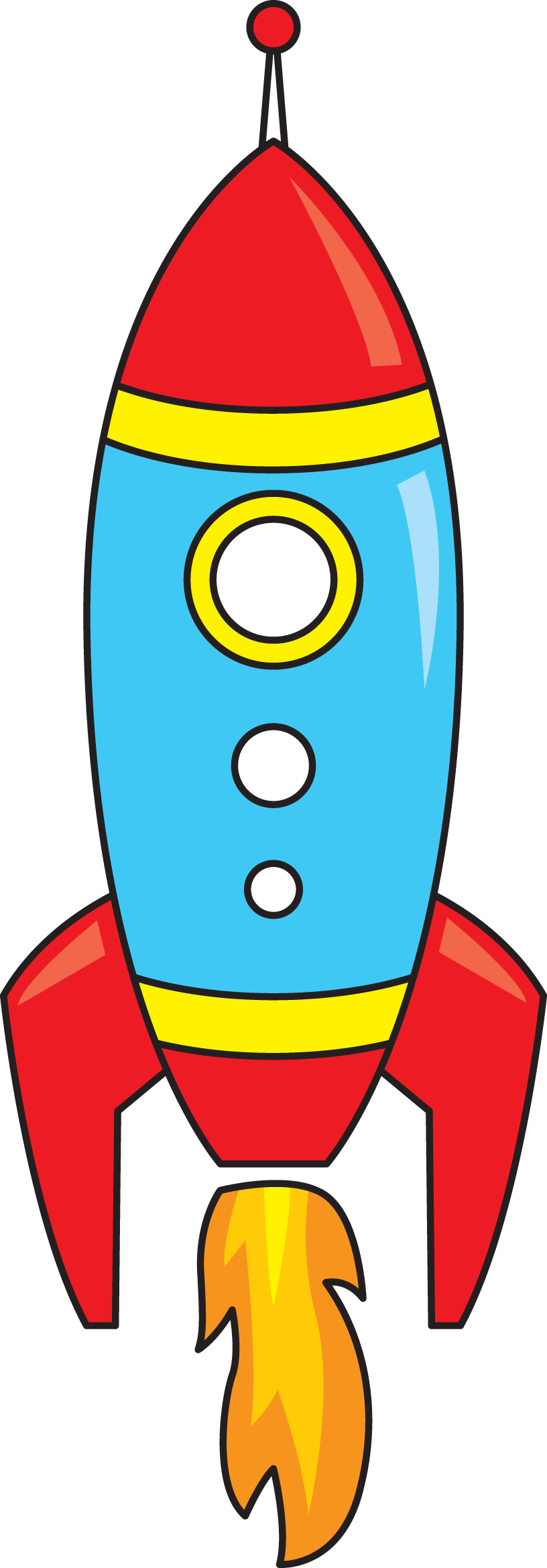816x2338 Rocket Clipart Group