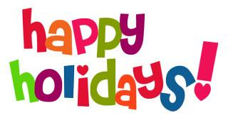 320x169 Free Happy Holidays Clip Art