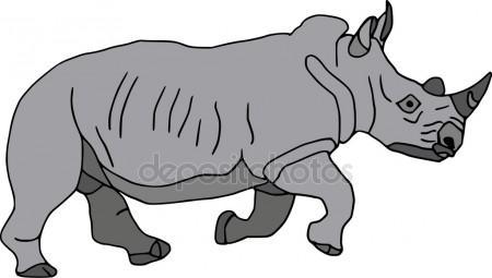 450x255 Rhino Strong Stock Vectors, Royalty Free Rhino Strong