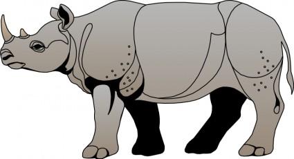 425x230 Rhino Clipart Rhino Head