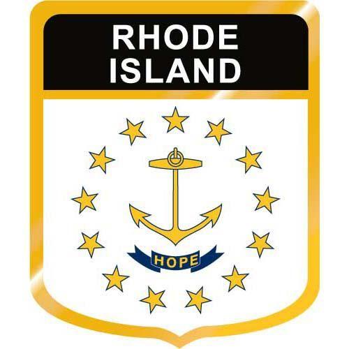 500x500 Rhode Island Flag Crest Clip Art