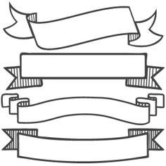 236x236 Banner Set Svg Scrapbook Banners Svg Cut Filesbanners Svg Files