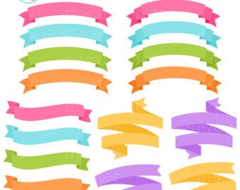 340x270 Banner Clip Art Etsy