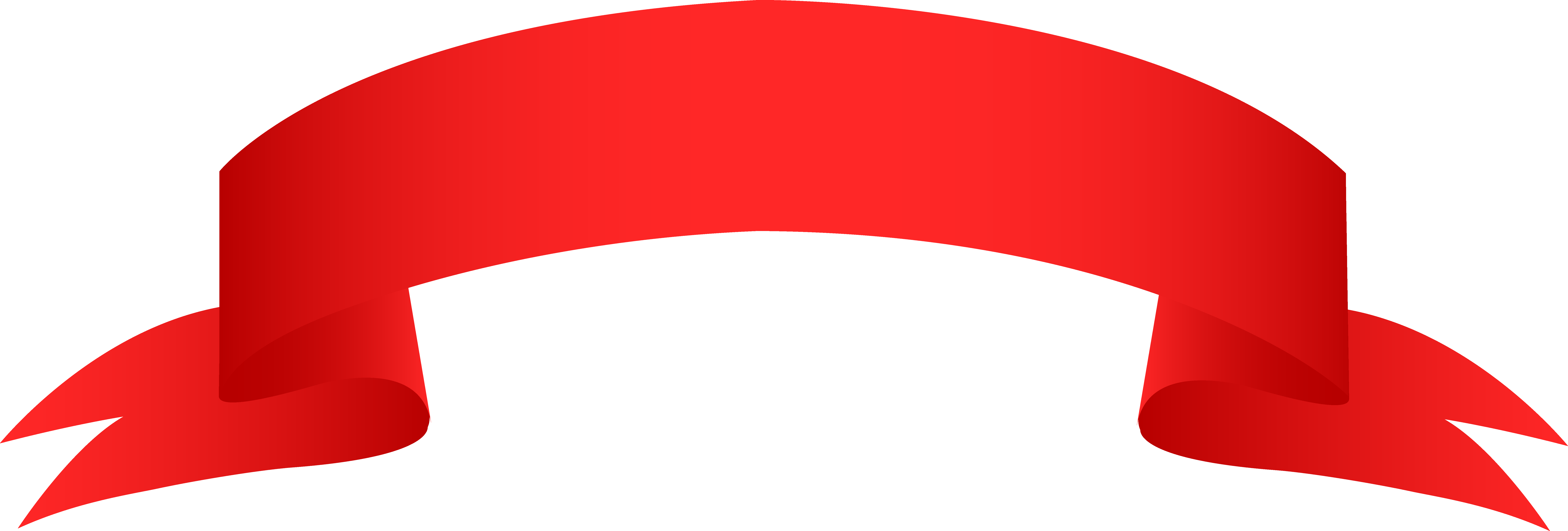 9356x3172 Ribbon Banner Clipart