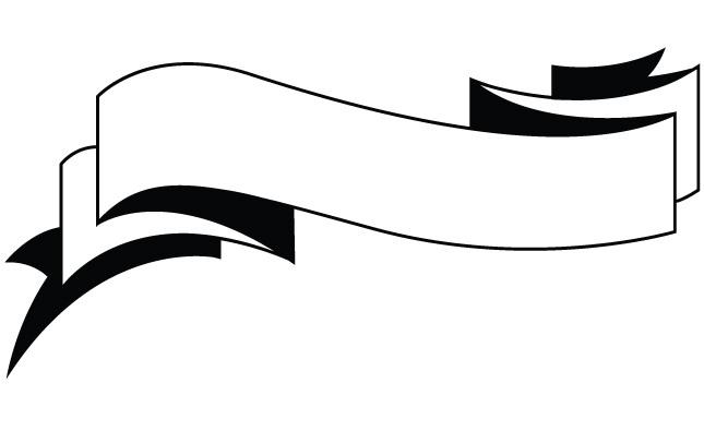 645x395 Ribbon Vector Black White Png Free Download Clip Art Free Clip