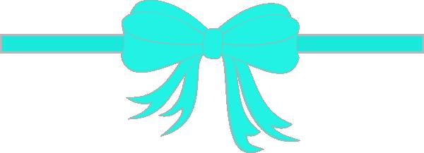 600x217 Ribbon Bow Clip Art