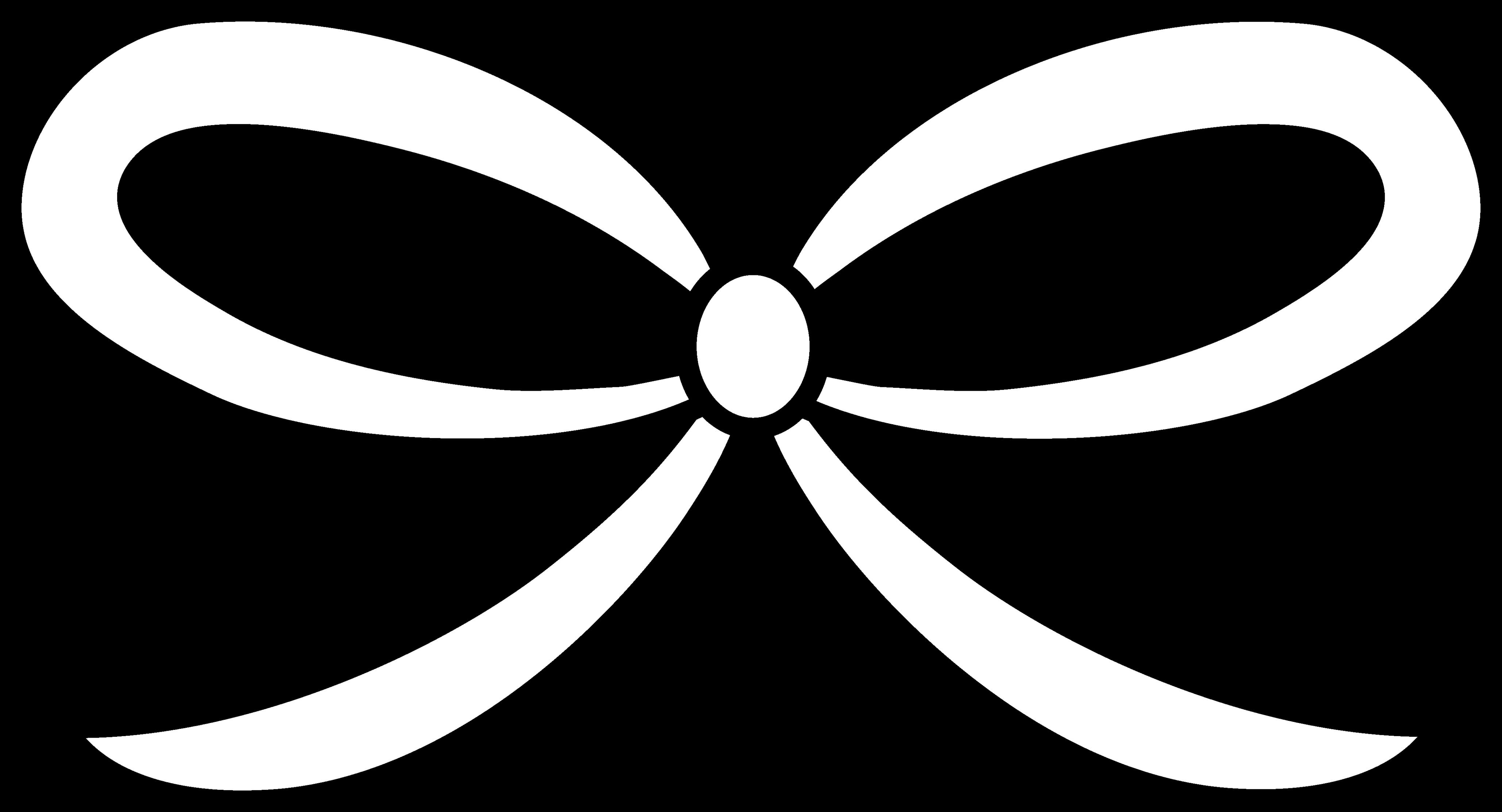 4117x2226 Ribbon Clipart Bow