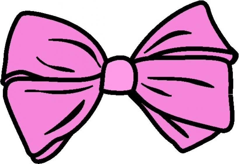 820x562 Ribbon Clipart Hair Bow